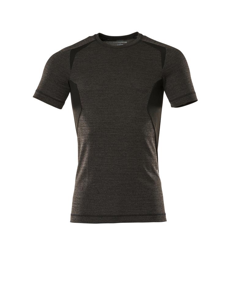 19882-794-1809 Camisa interior funcional, manga corta - antracita oscuro/negro
