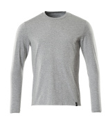 20181-959-08 Camiseta, manga larga - gris-moteado