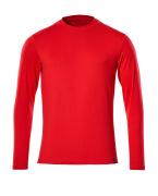 20181-959-202 Camiseta, manga larga - rojo tráfico