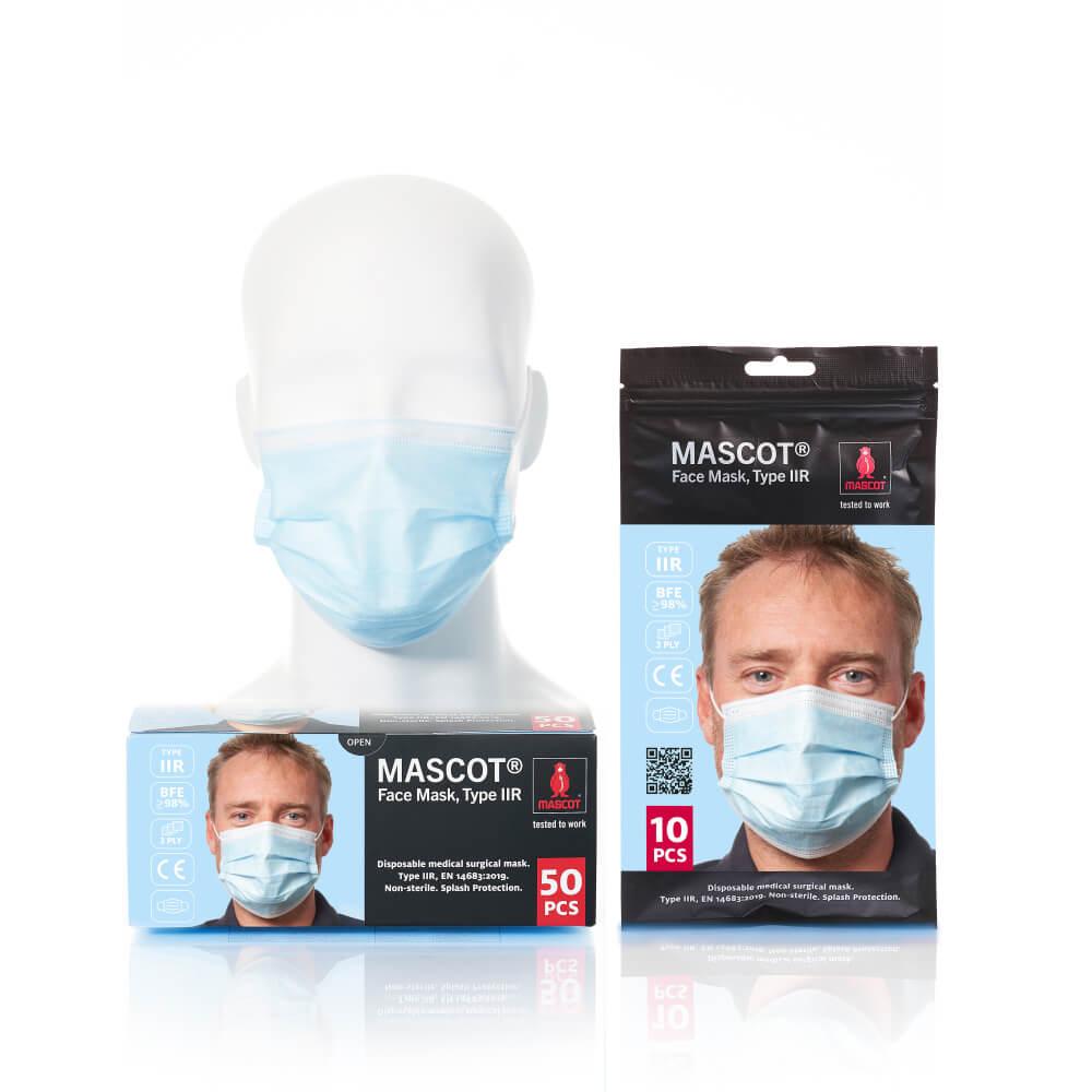 20950-921-71 Mascarilla - azul claro