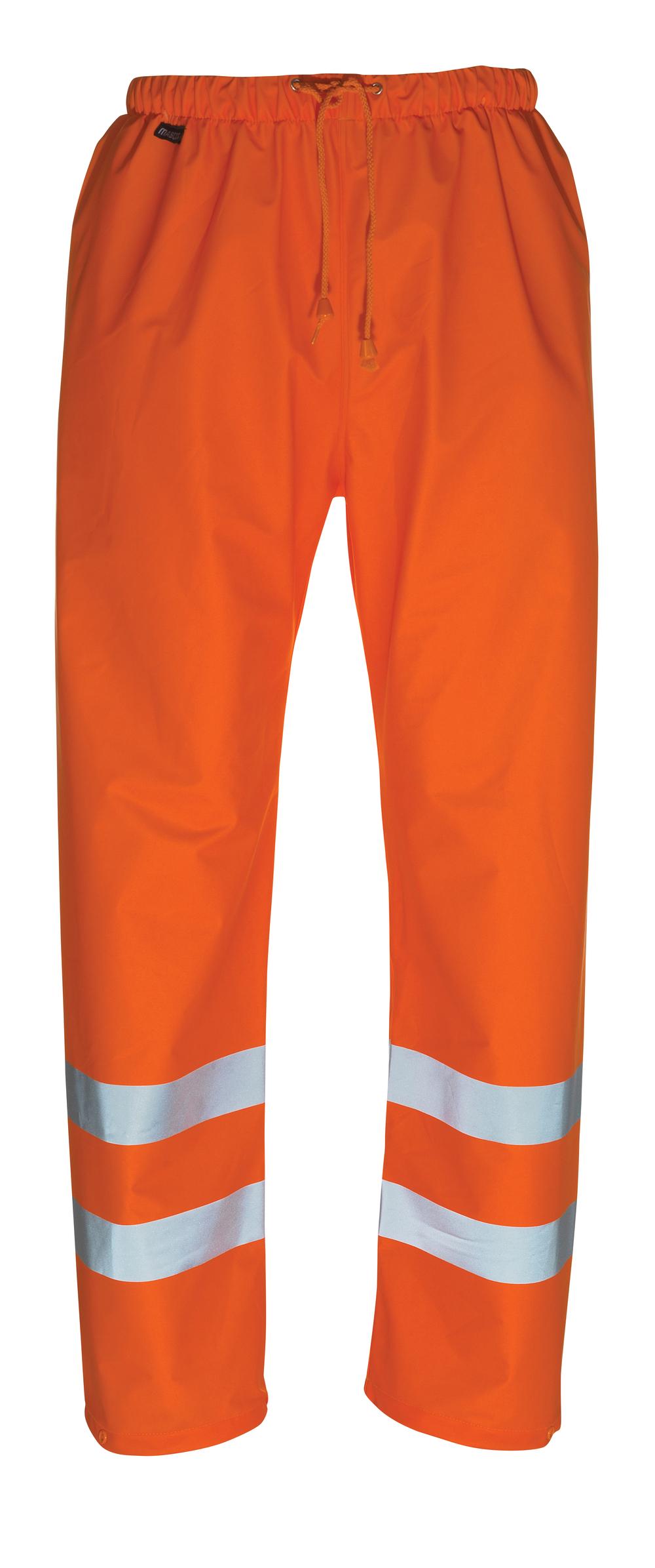 50102-814-14 Pantalones impermeables - naranja de alta vis.