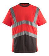 50118-949-A49 Camiseta - rojo de alta vis./antracita oscuro