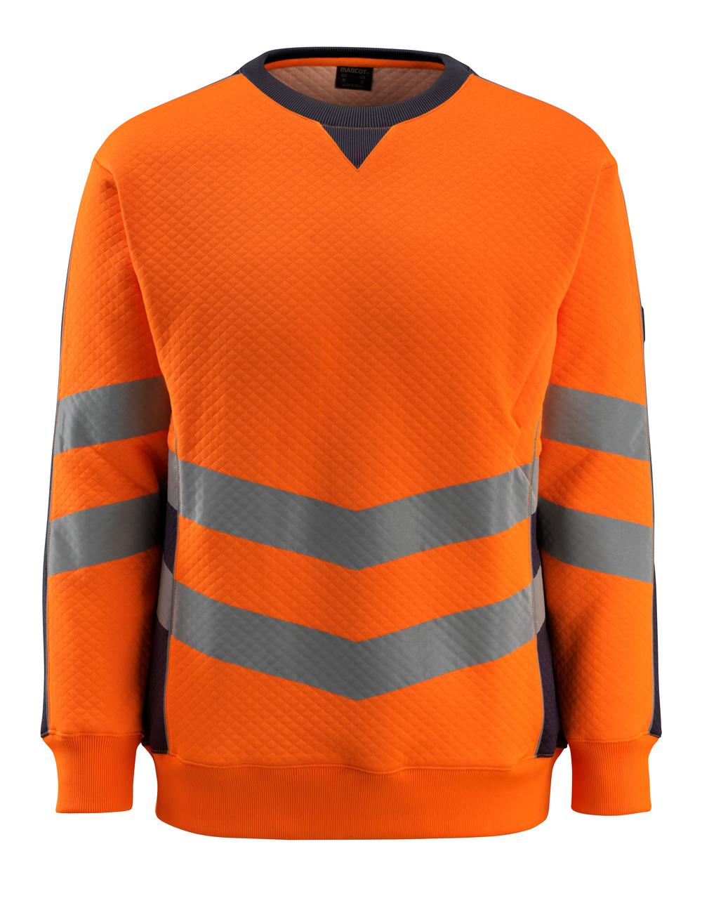 50126-932-14010 Sudadera - naranja de alta vis./azul marino oscuro