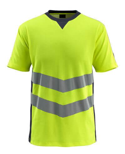 50127-933-14010 Camiseta - naranja de alta vis./azul marino oscuro