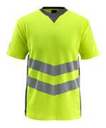 50127-933-1718 Camiseta - amarillo de alta vis./antracita oscuro