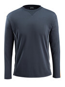 50128-933-0917 Camiseta, manga larga - negro/amarillo de alta vis.