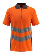 50130-933-1418 Polo - naranja de alta vis./antracita oscuro