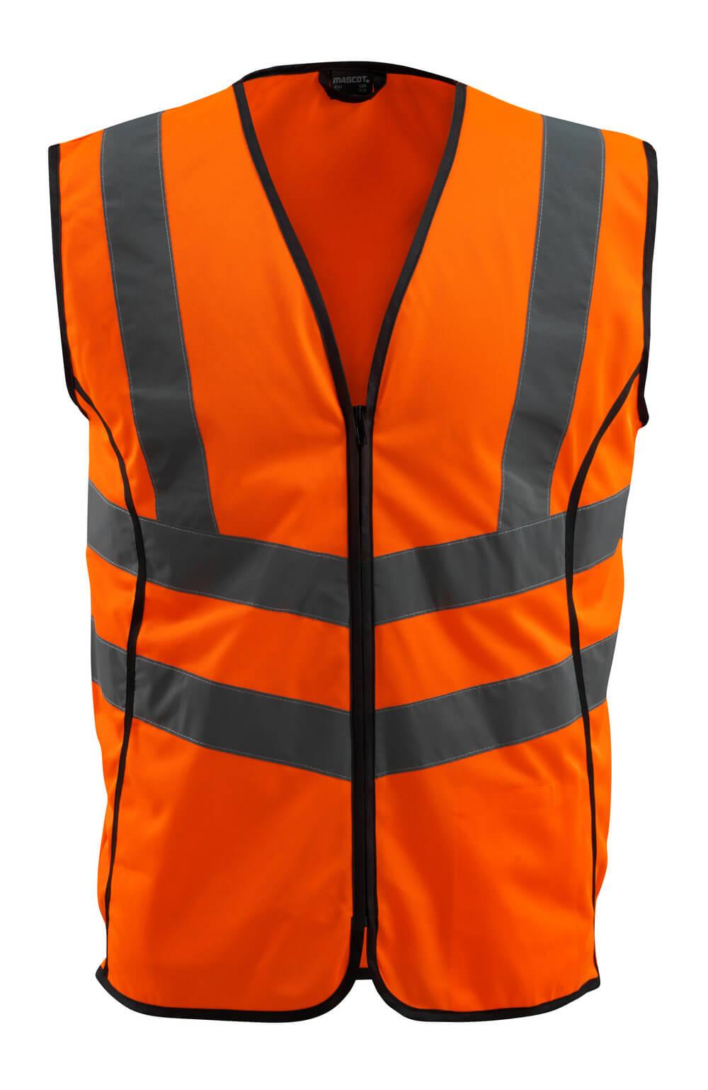 50145-977-14 Chaleco de tráfico - naranja de alta vis.