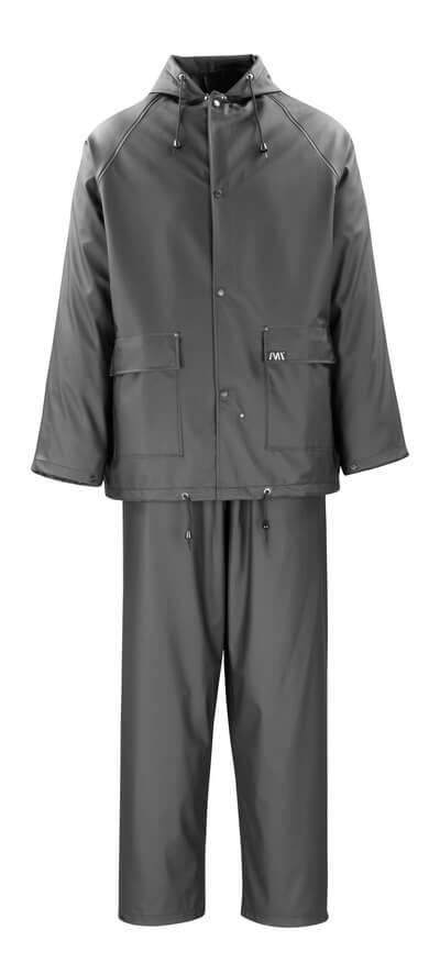 50184-873-09 Chubasquero y pantalones impermeables - negro