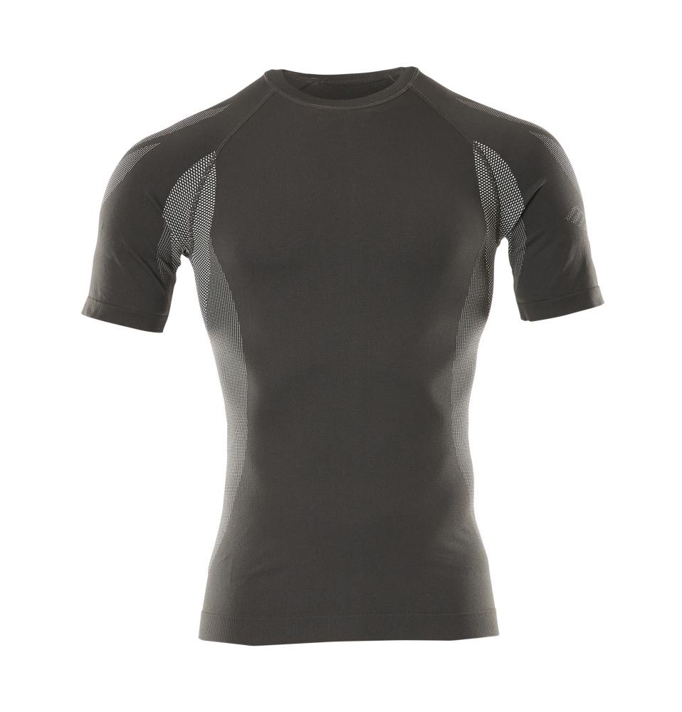 50185-870-18 Camisa interior funcional, manga corta - antracita oscuro