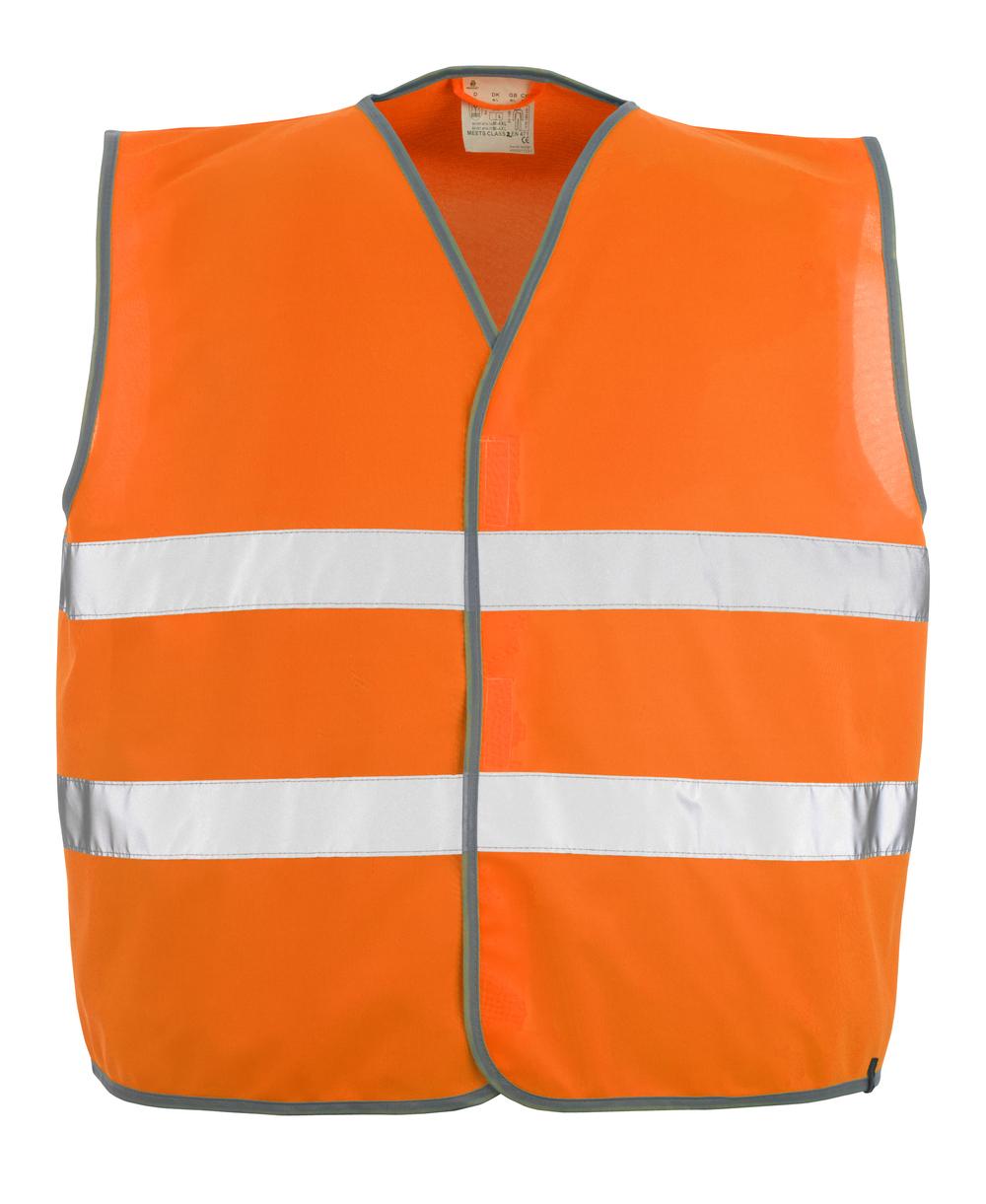 50187-874-14 Chaleco de tráfico - naranja de alta vis.