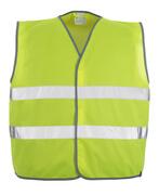 50187-874-17 Chaleco de tráfico - amarillo de alta vis.