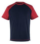 50301-250-12 Camiseta - azul marino/rojo