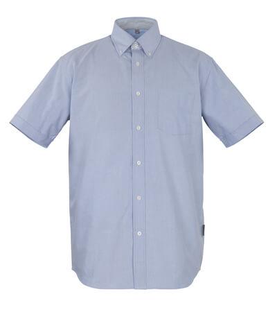 50377-887-B13 Camisa, manga corta - azul oxford