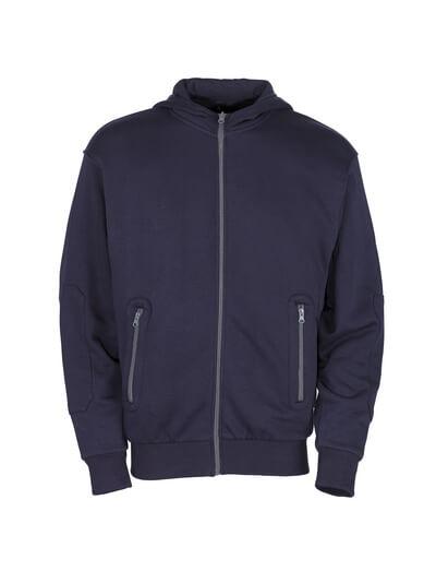 50423-191-01 Sudadera con capucha con cremallera - azul marino