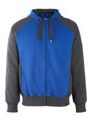 50566-963-11010 Sudadera con capucha con cremallera - azul real/azul marino oscuro