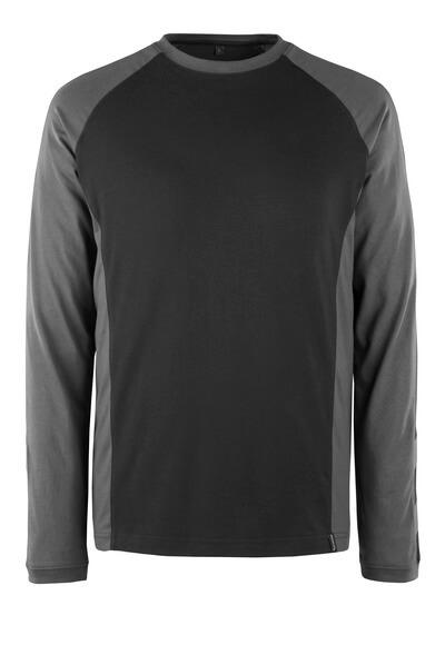 50568-959-1809 Camiseta, manga larga - antracita oscuro/negro