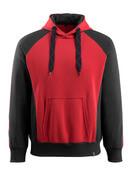 50572-963-0209 Sudadera con capucha - rojo/negro