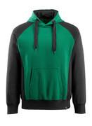 50572-963-0309 Sudadera con capucha - verde/negro