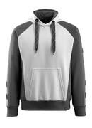 50572-963-0618 Sudadera con capucha - blanco/antracita oscuro