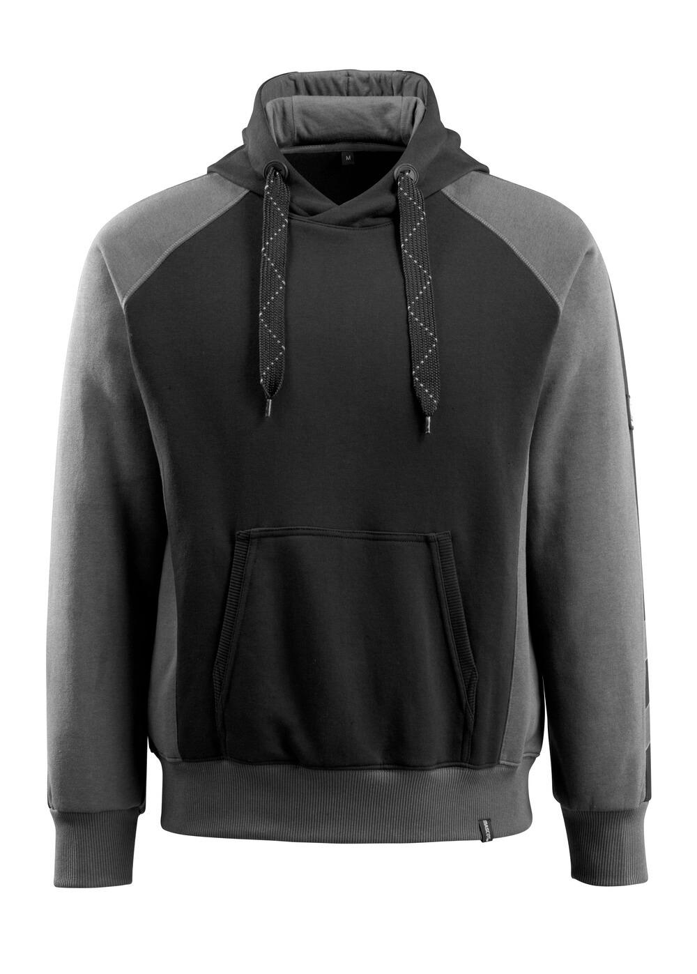 50572-963-0918 Sudadera con capucha - negro/antracita oscuro