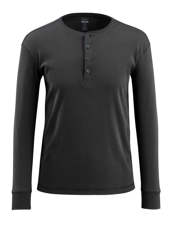 50581-964-09 Camiseta, manga larga - negro