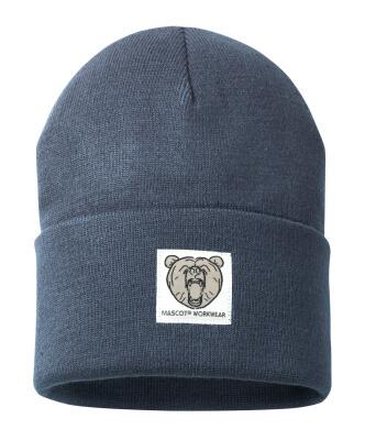 50603-974-010 Sombrero de punto - azul marino oscuro
