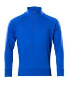 50611-971-11 Sudadera con media cremallera - azul real