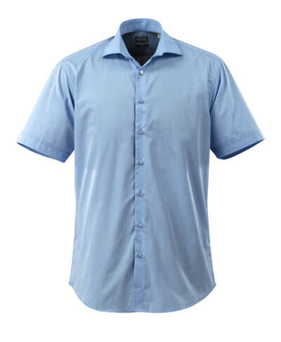 50632-984-71 Camisa, manga corta - azul claro