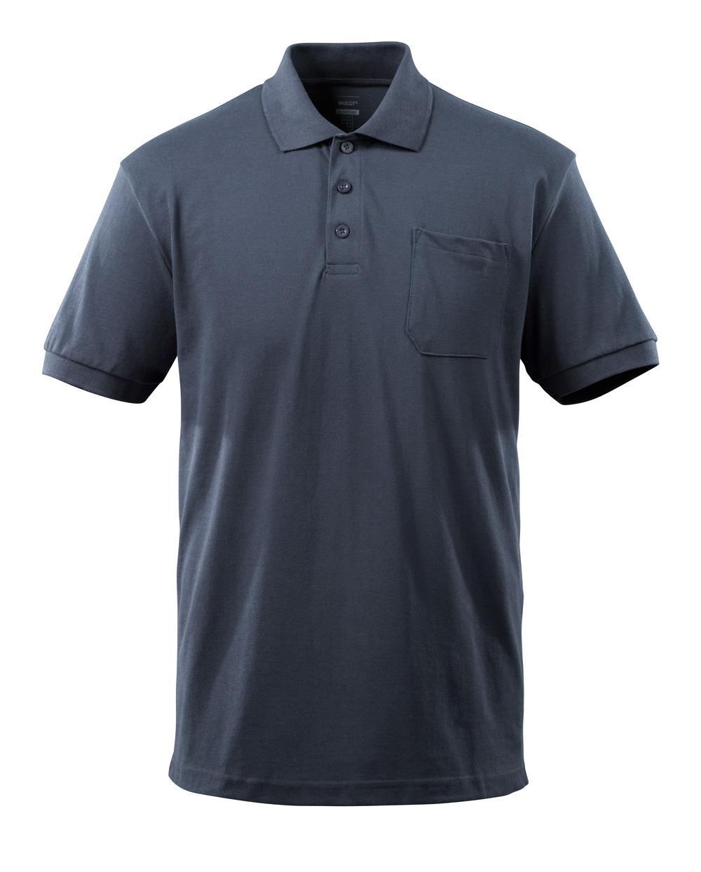 51586-968-010 Polo con bolsillo en el pecho - azul marino oscuro
