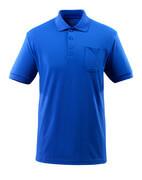 51586-968-11 Polo con bolsillo en el pecho - azul real