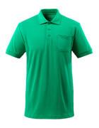 51586-968-333 Polo con bolsillo en el pecho - verde hierba