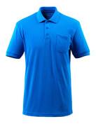 51586-968-91 Polo con bolsillo en el pecho - azul celeste