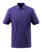 51586-968-95 Polo con bolsillo en el pecho - azul violeta