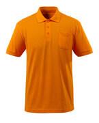 51586-968-98 Polo con bolsillo en el pecho - naranja brillante