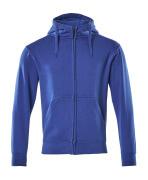 51590-970-11 Sudadera con capucha con cremallera - azul real
