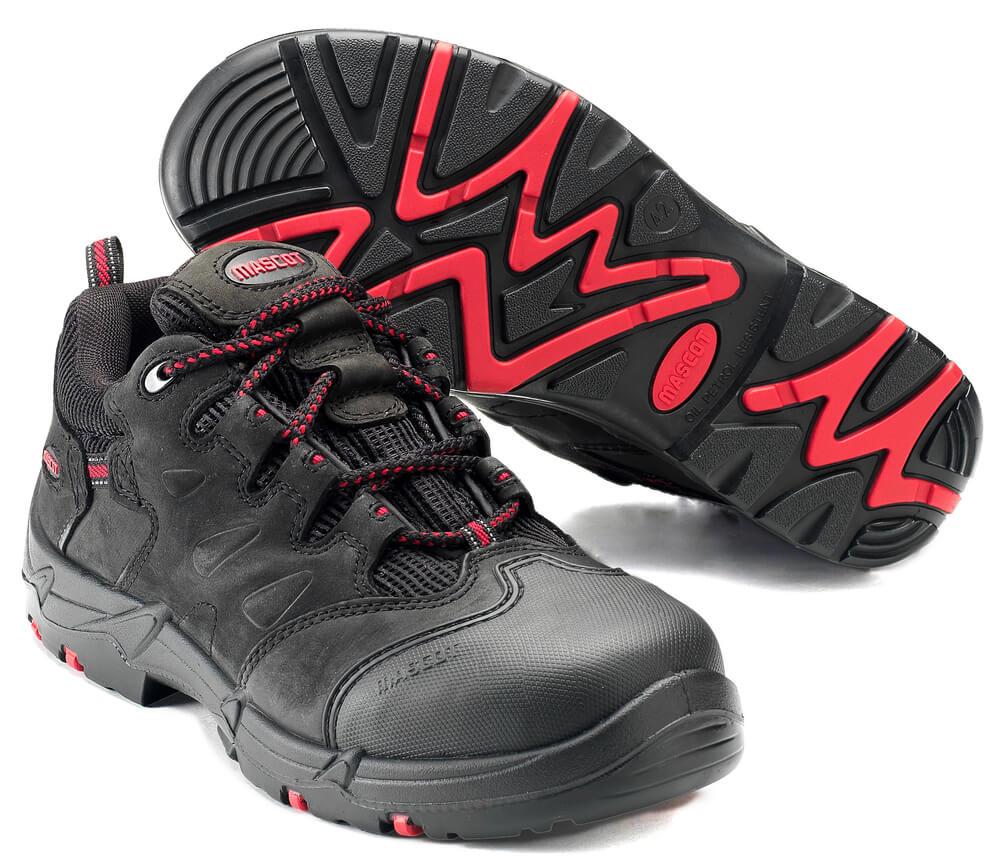 F0014-901-0902 Zapatos de seguridad - negro/rojo