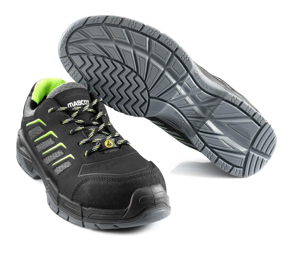 F0108-937-09 Zapatos de seguridad - negro