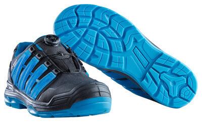 F0112-909-0993 Zapatos de seguridad - negro/petróleo