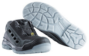 F0119-906-09888 Sandalias de seguridad - negro/antracita