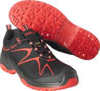 F0121-770-0902 Zapatos de seguridad - negro/rojo