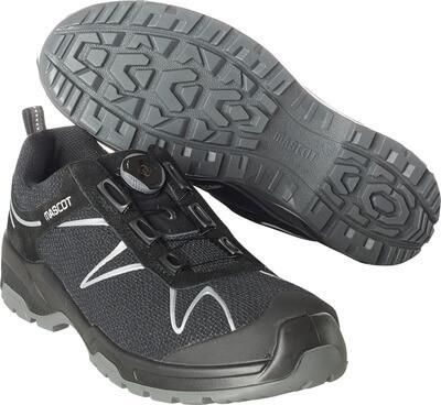 F0122-771-09880 Zapatos de seguridad - negro/plata