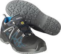 F0123-772-0911 Zapatos de seguridad - negro/azul real
