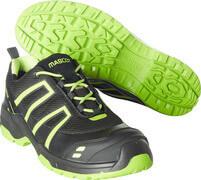 F0124-773-0917 Zapatos de seguridad - negro/amarillo de alta vis.