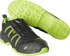 F0125-773-0917 Zapatos de seguridad - negro/amarillo de alta vis.