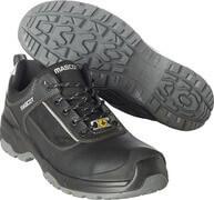 F0126-774-09880 Zapatos de seguridad - negro/plata