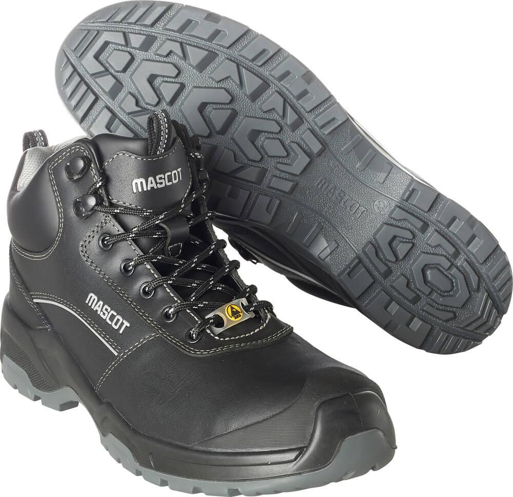 F0128-775-09 Botas de seguridad - negro