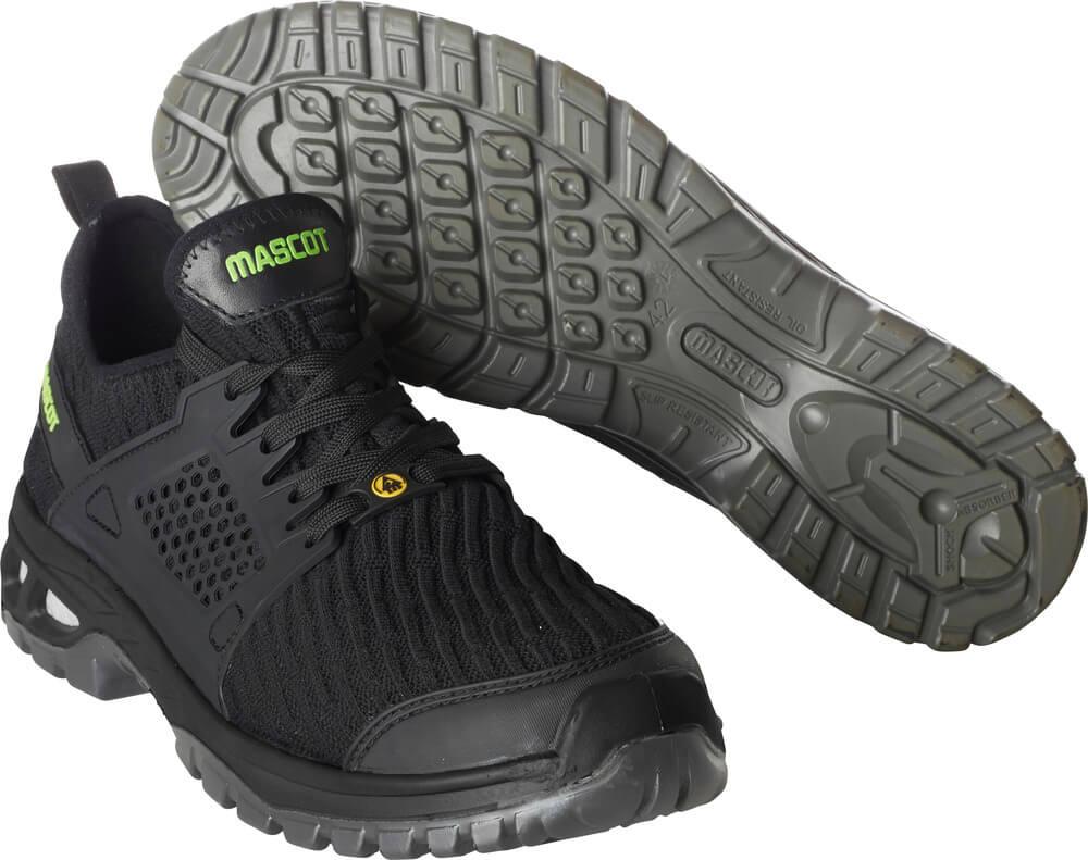 F0132-996-09 Zapatos de seguridad - negro