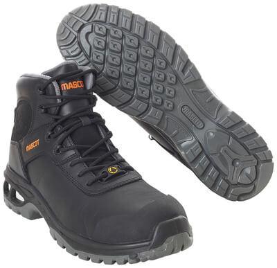 F0135-902-09 Botas de seguridad - negro