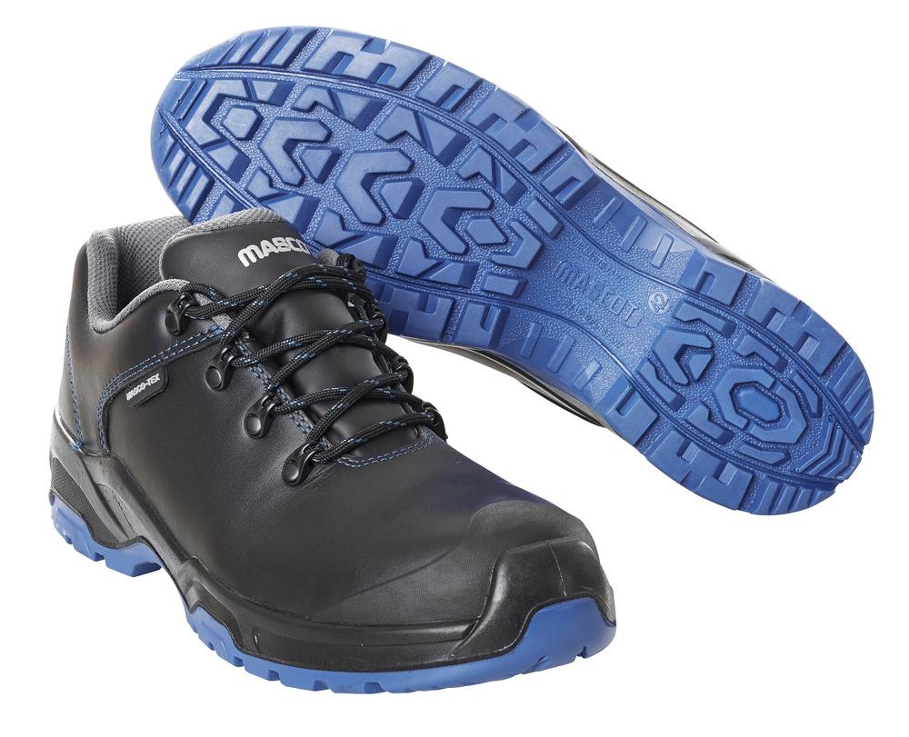 F0140-902-0901 Zapatos de seguridad - negro/azul real